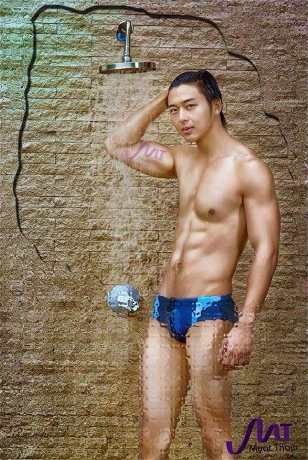 from Conrad myanmar naked male